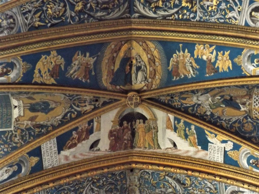 Scènes des voûtes de la cathédrale d'Albi