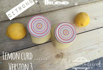 Lemon curd version 3
