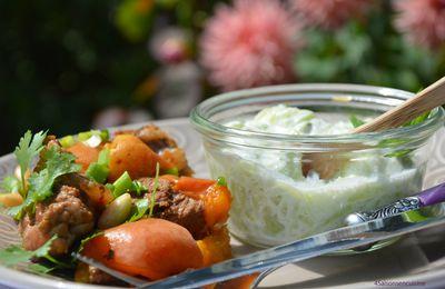 Agneau aux abricots et amandes