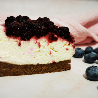 Cheesecake sans cuisson aux fruits rouges