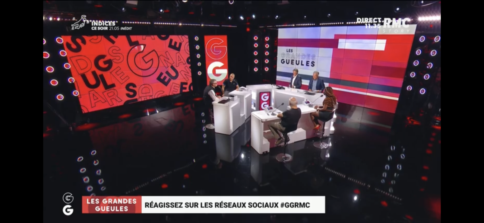 Michel Onfray - Les Grandes Gueules (RMC) - 03.09.2021