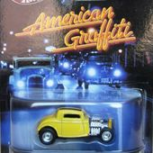 32 FORD HOT ROD AMERICAN GRAFFITI HOT WHEELS 1/64 HARRISON FORD RICHARD DREYFUSS - car-collector.net
