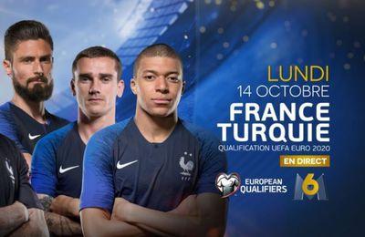 [Foot] France / Turquie (Qualification Euro 2020) ce lundi sur M6 !