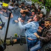 Répression policière du gouvernement SYRIZA contre une manifestation anti-impérialiste des étudiants grecs - Solidarité Internationale PCF
