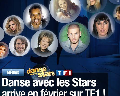 Danse avec les Stars arrive en février sur TF1 ! (Mis à jour)