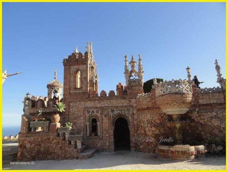 Castillo de Colomares à Banalmadena (E)