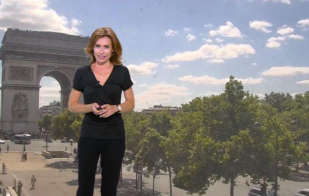 📸6 SANDRA LARUE @JohannaCarlosD8 pour LA METEO cet apm @BFMTV #vuesalatele
