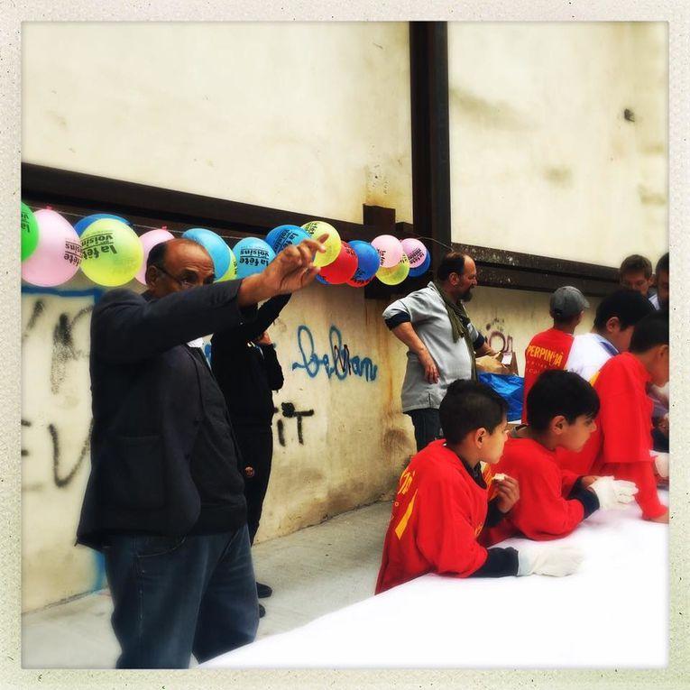 Perpignan: plus belle la vie à St Jacques, la fête des voisins entre gitans et payous! interview David Tranchecoste, Nick Giménez, Philippe Bringel par Nicolas Caudeville