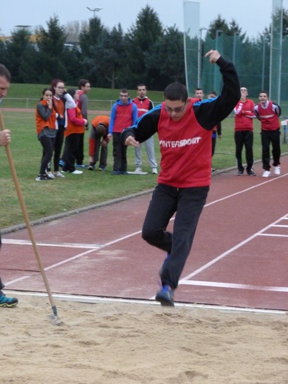 La sortie athlétisme
