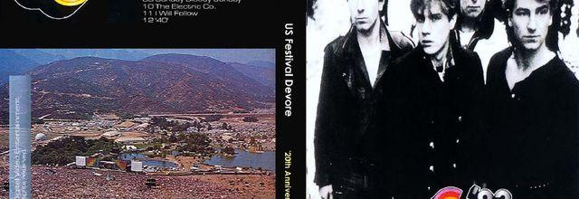 U2 - War Tour -30/05/1983 -Devore  USA- Glen Helen Regional Park