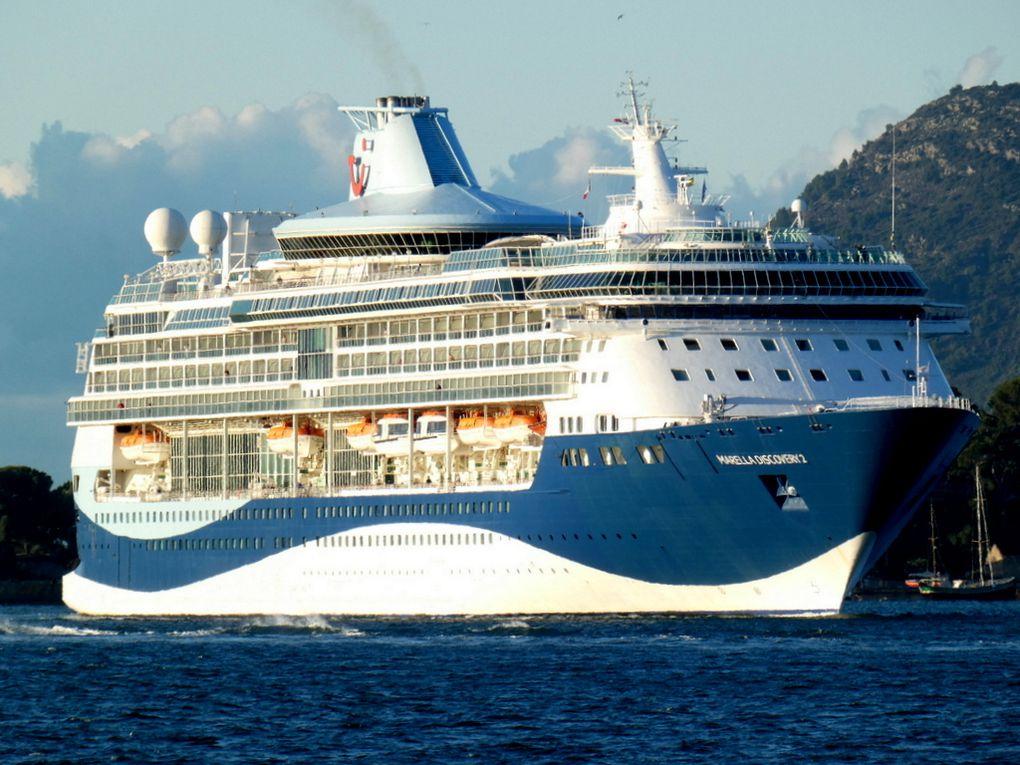 MARELLA  DISCOVERY 2 , arrivant dans le port de Toulon le 06novembre 2019