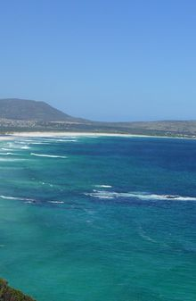 La plage de Camps Bay...