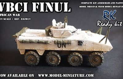 "La gamme ""Ready kit"" de Model-Miniature au 1/72"