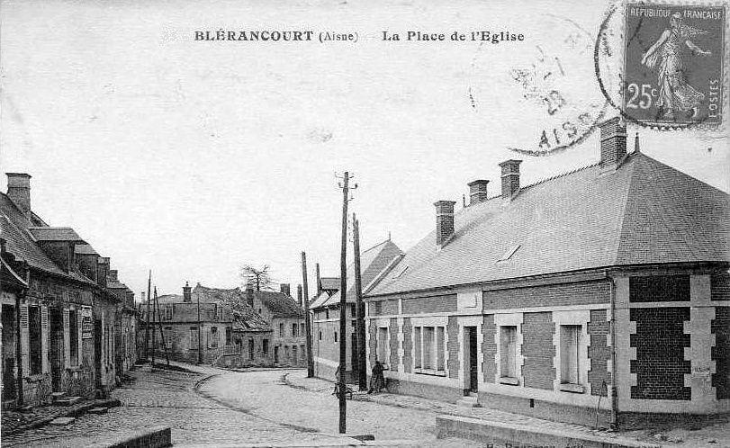 Album - le village de Blérancourt (Aisne), les places