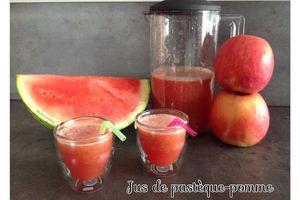 Jus de pastèque-pomme