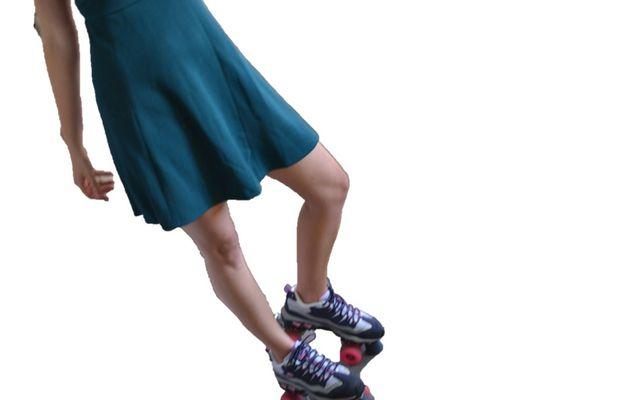 ... la robe patineuse, et les joies de la technologie