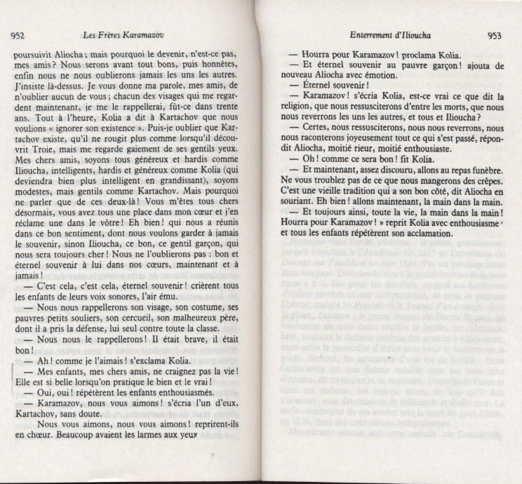 RÉFLEXION  95 - L'ÉDUCATION AVEC DOSTOÏEVSKI - LES FRERES KARAMAZOV