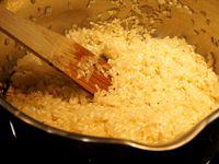 Risotto au safran et potimarron confit au miel