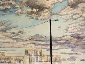 Yves Le Cabec, aquarelle