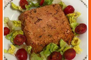 Bowl cake steak haché et tomate