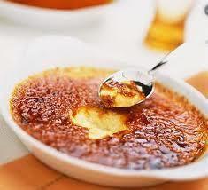 Crème brûlée aux noisettes (ingrédients en bas de la page)