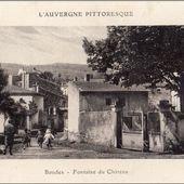 Auvergne d'autrefois:Boudes - L'Auvergne Vue par Papou Poustache