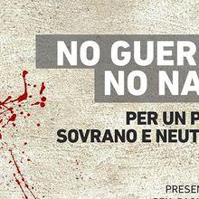 """Comité italien """"Non à la guerre, non à l'OTAN"""""""