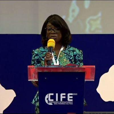 CIFE-2021: «Le temps est arrivé où la femme doit impacté les Nations par le potentiel qui est en elle», a déclaré la Prophétesse Patricia YOKA