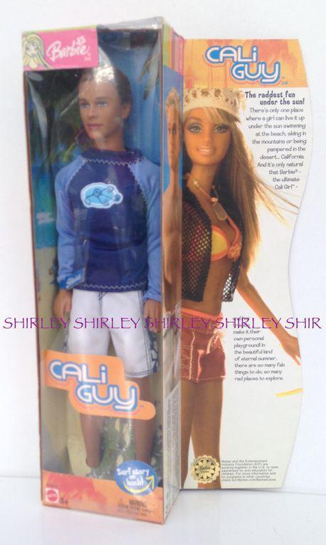 """""""CALI GUY"""" BLAINE DOLL 2004 MATTEL #H4476"""