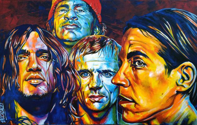Red Hot Chili Peppers with John Fruciante