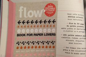Flow papeterie book