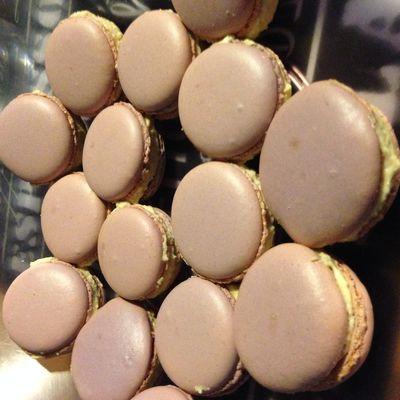 Mes macarons au foie gras