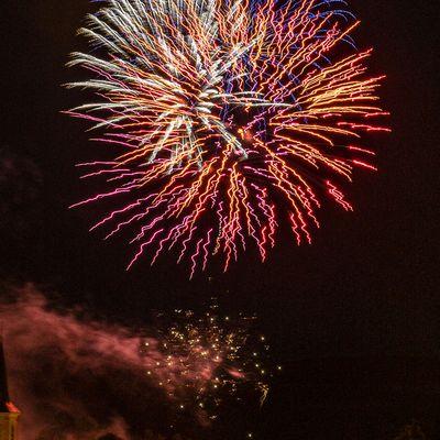 13 juillet 2021 - Feu d'artifice de DOMPAIRE - MADONNE ET LAMEREY