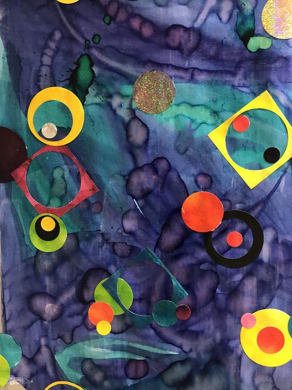 Arts plastiques à l'école maternelle
