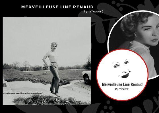 PHOTOS: Line Renaud 1960