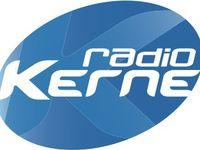 Louis Verveur et Jean Hascoet dans les locaux de Radio Kerne