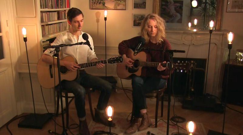Samares dévoile une version live acoustique du titre « Les Cerisiers » !