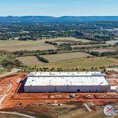 Blue Origin's Alabama rocket engine plant shaping up, and it's big