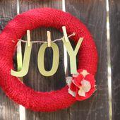 Tutorial Tuesday: Christmas Wreath