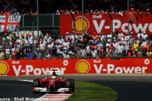 Shell fournit du biocarburant à Ferrari