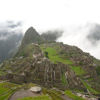 Machu Picchu et la vallee sacree