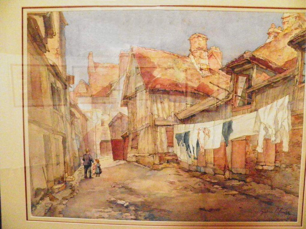 Inauguration de l'exposition Colange, tableaux de Gustave Colange et jardins du presbytère.
