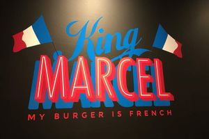 KING MARCEL: my Burger is French !
