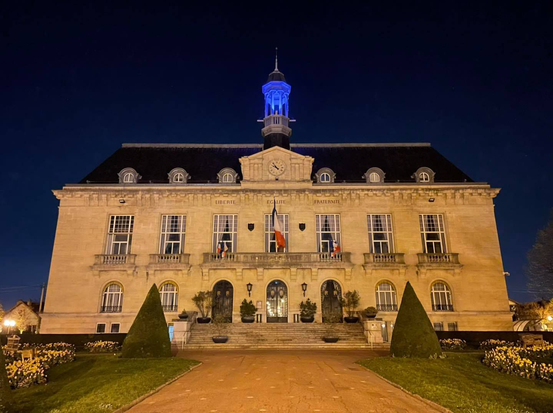 Aulnay-sous-Bois s'illumine de bleu pour la journée mondiale de sensibilisation à l'autisme