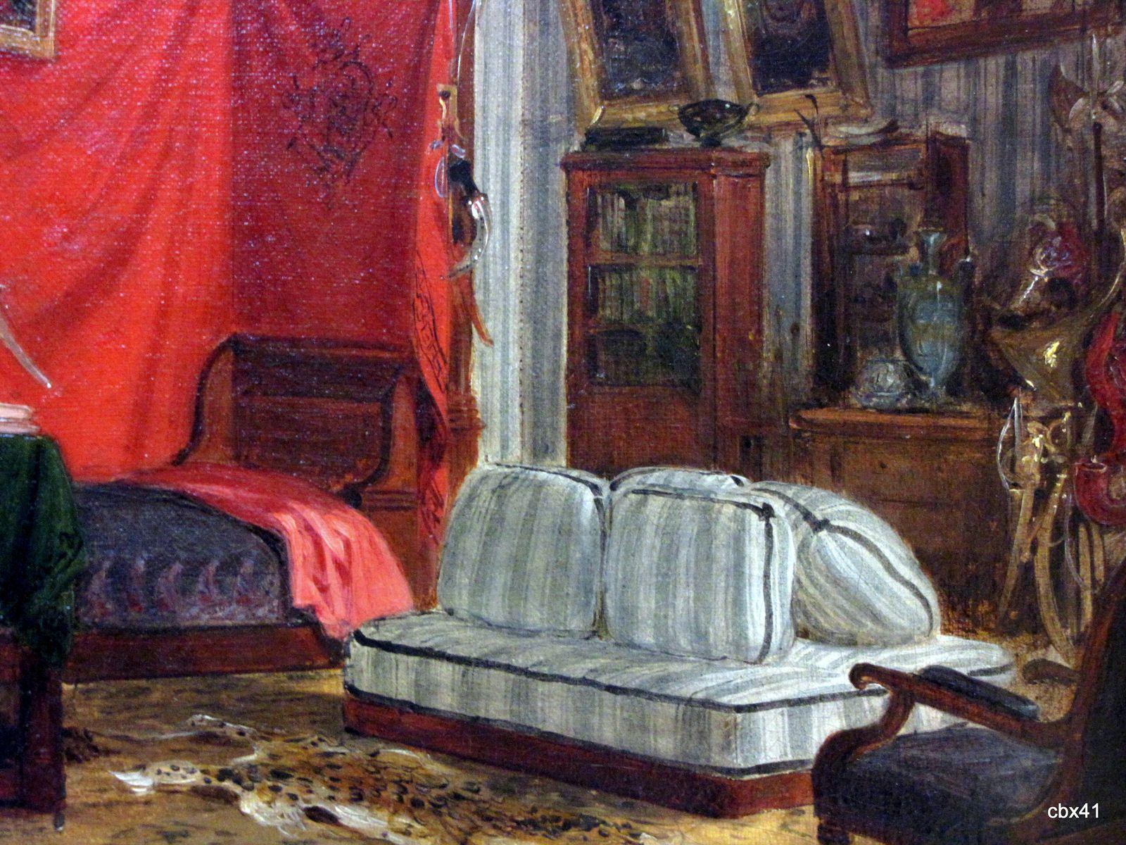 Eugène Delacroix, L'appartement du comte de Mornay