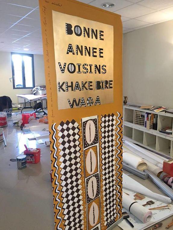 Pour des raisons de droit à l'image, peu de femmes sont présentes sur les visuels. Les photos sont prises par Mina et Améni.
