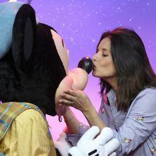 Faustine Bollaert chez Mickey - Disneyland Paris