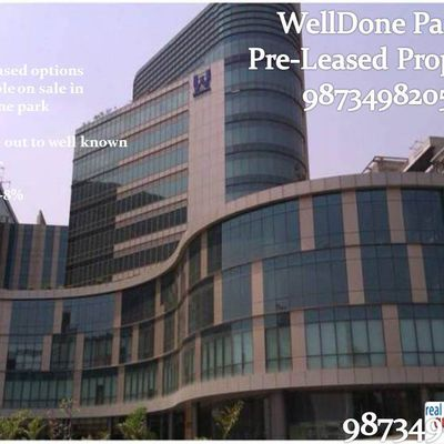 Pre-leased property in welldone tech park sohna road gurgaon :9873498205