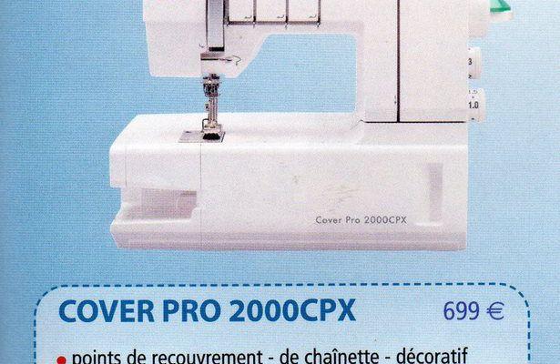 présentation de la CoverPro 2000CPX.
