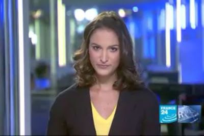 2012 03 04 @22H14 - MARION GAUDIN, FRANCE 24, LE JOURNAL